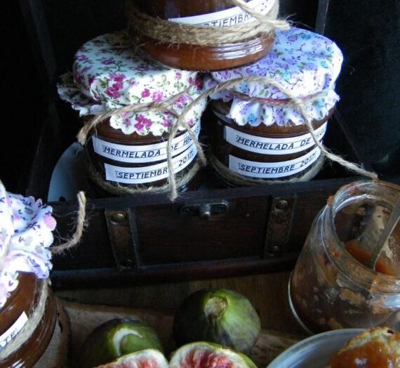 Mermelada de higos con balsámico de chocolate