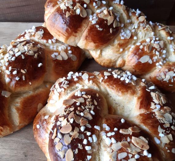 Tsoureki – Pan dulce griego